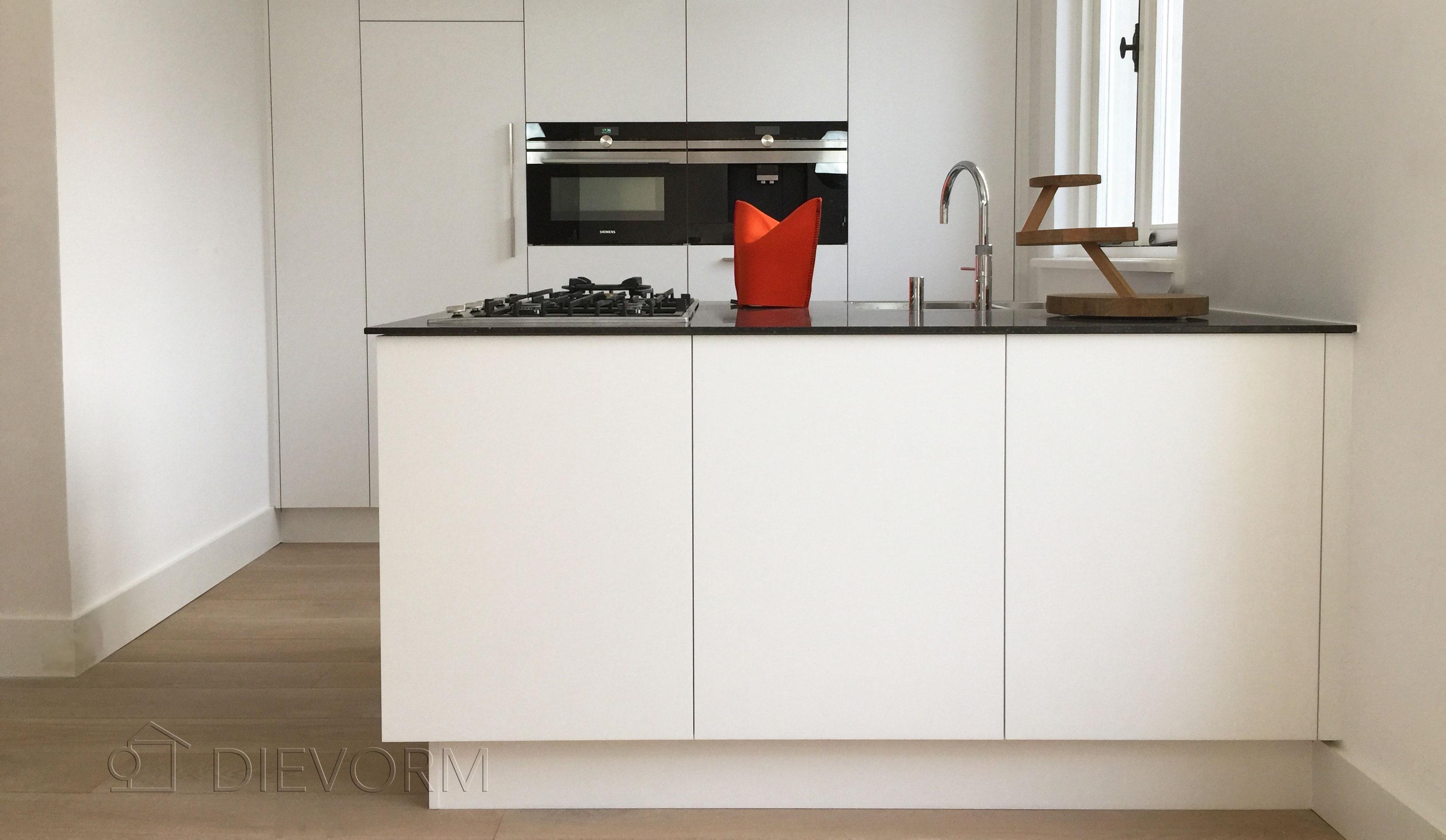Keuken Schiereiland Met : Showroom keuken met schiereiland keukenhof sliedrecht