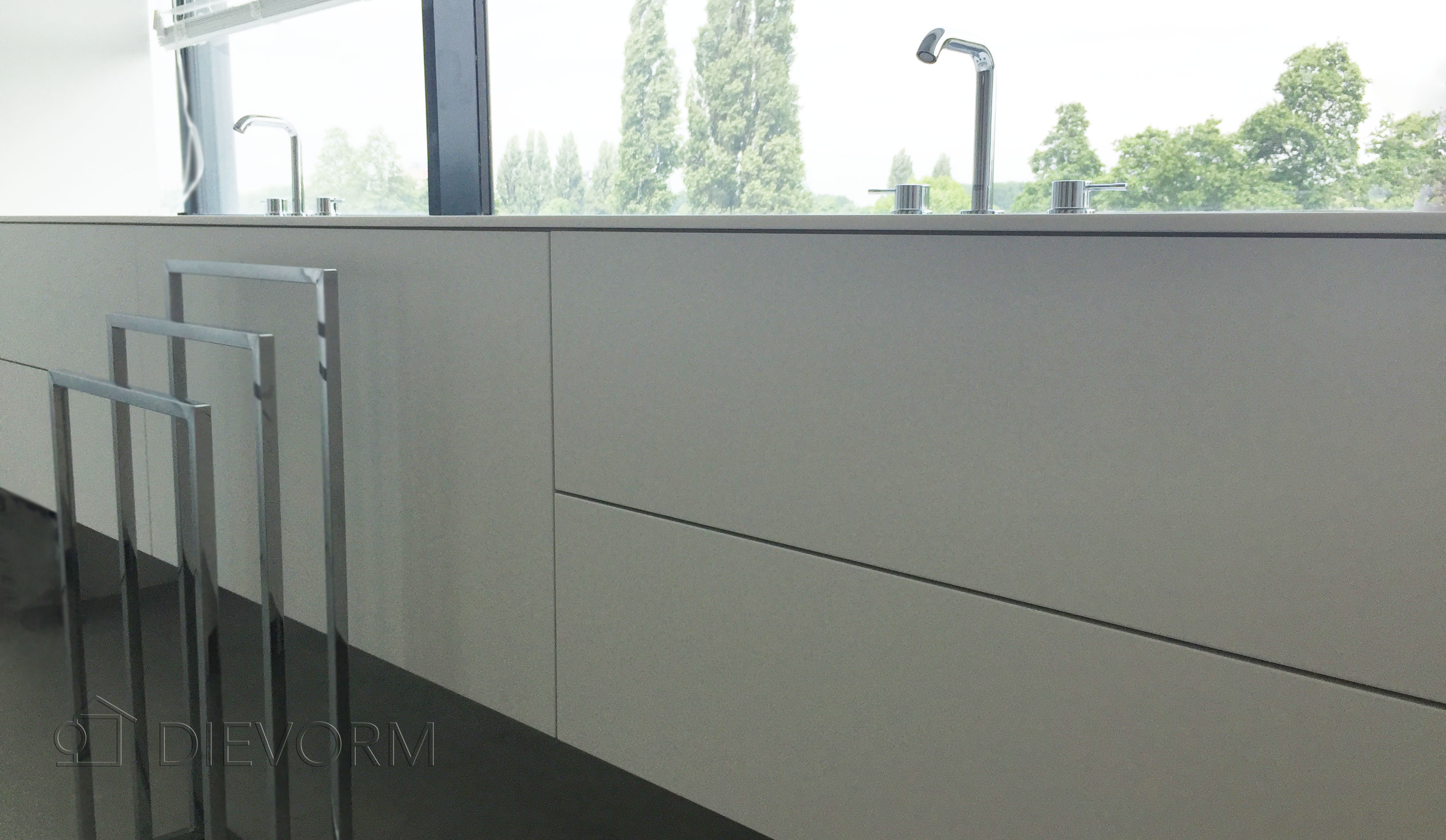 badkamermeubel design wit amsterdam dievorm