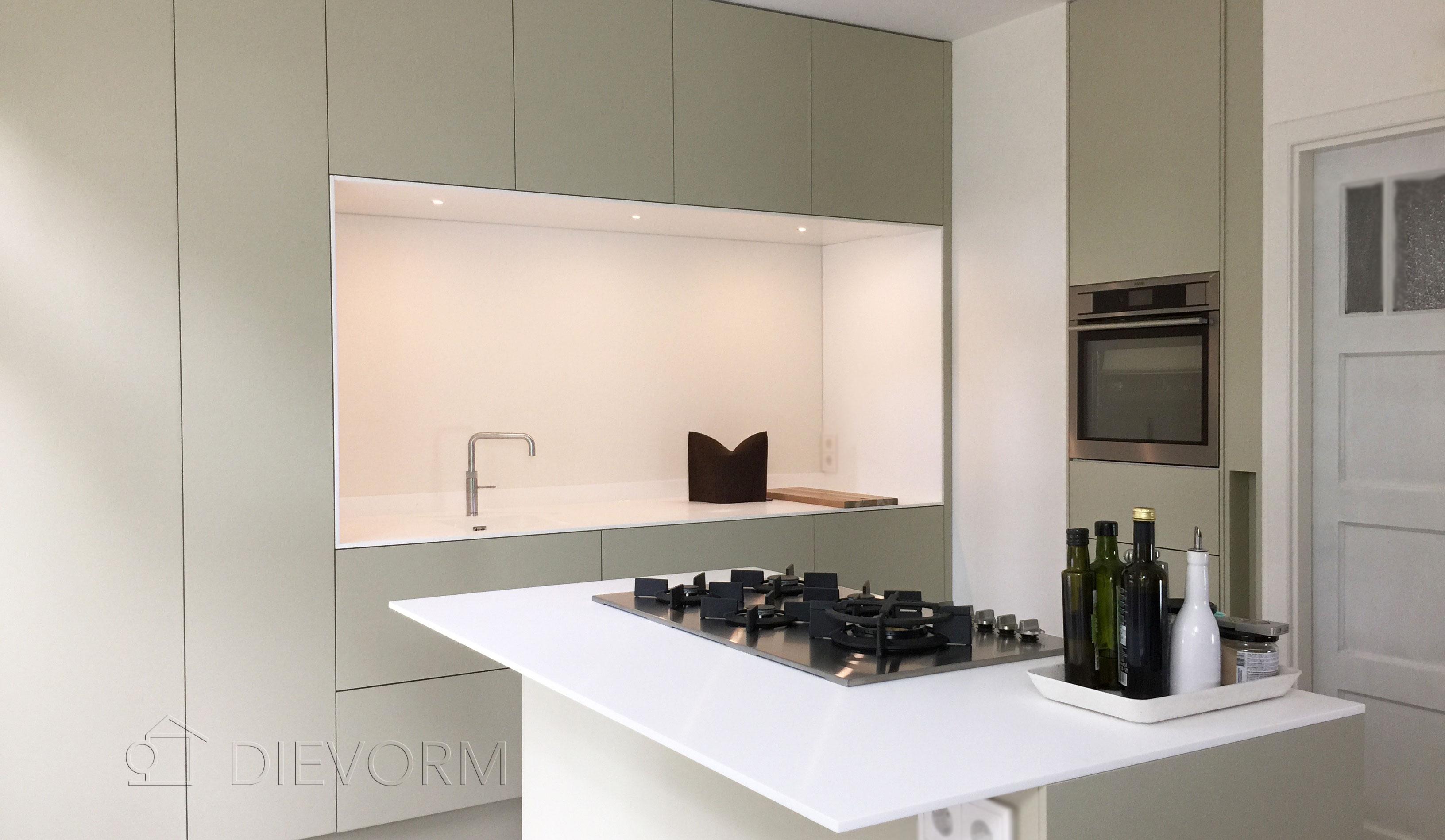 moderne keuken Arnhem Dievorm