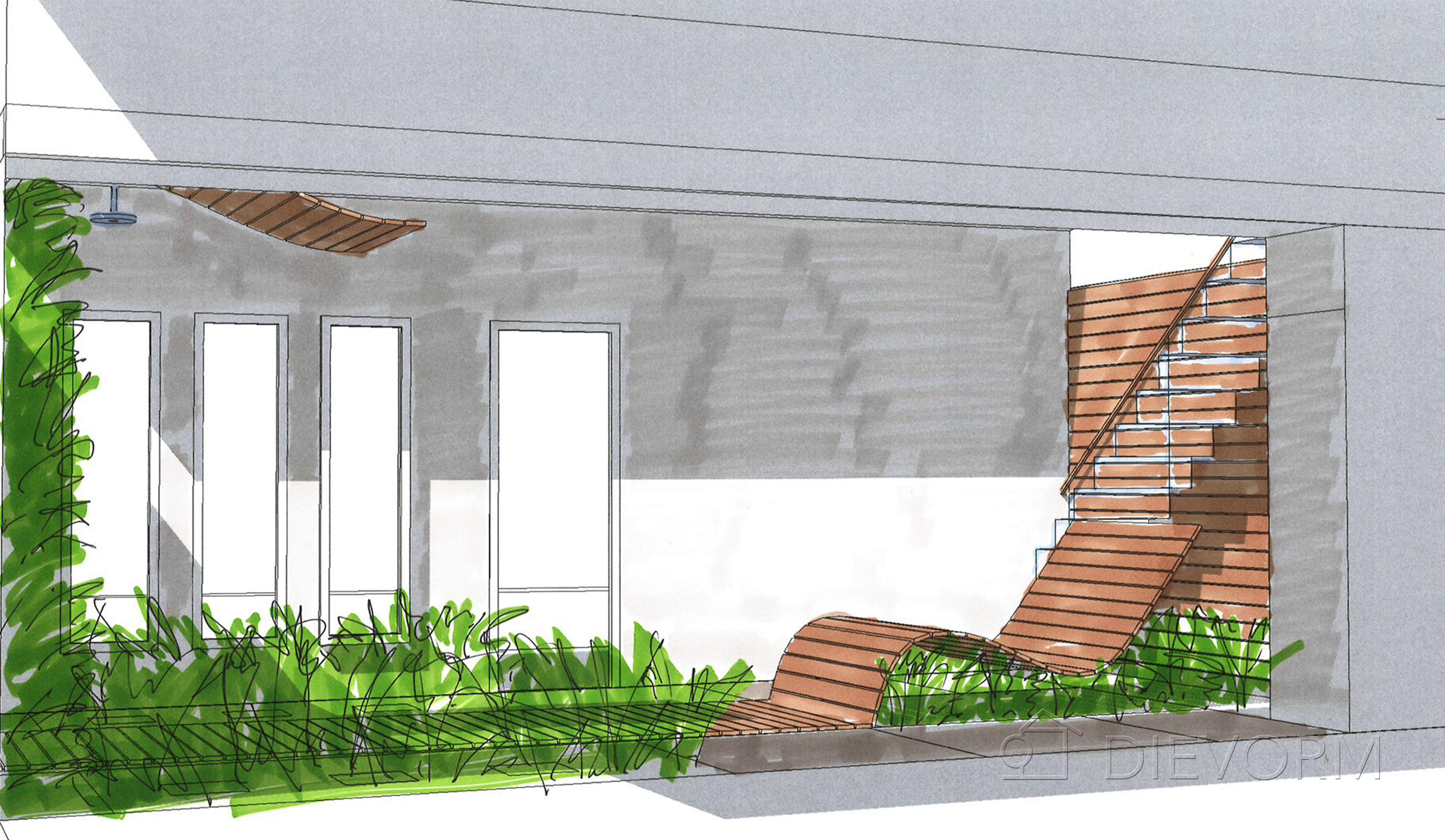 tuinbank design dievorm