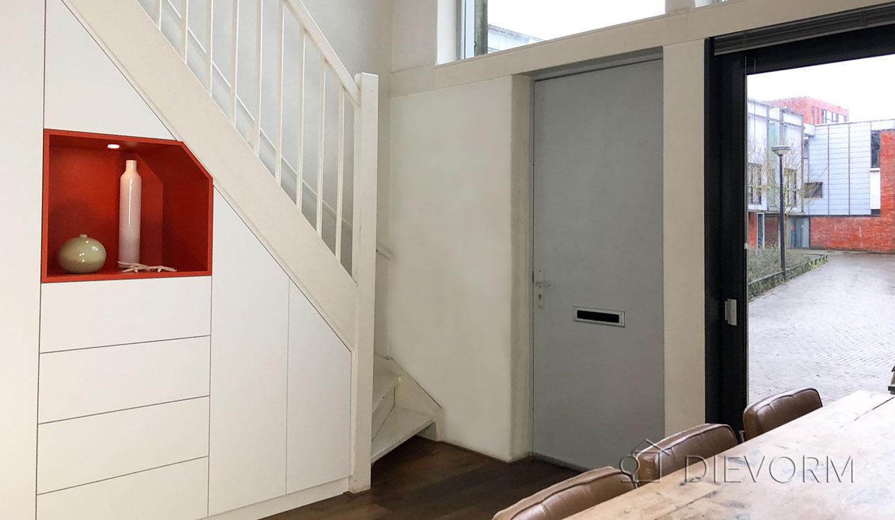 trapkast laten maken kast onder trap Amsterdam 2