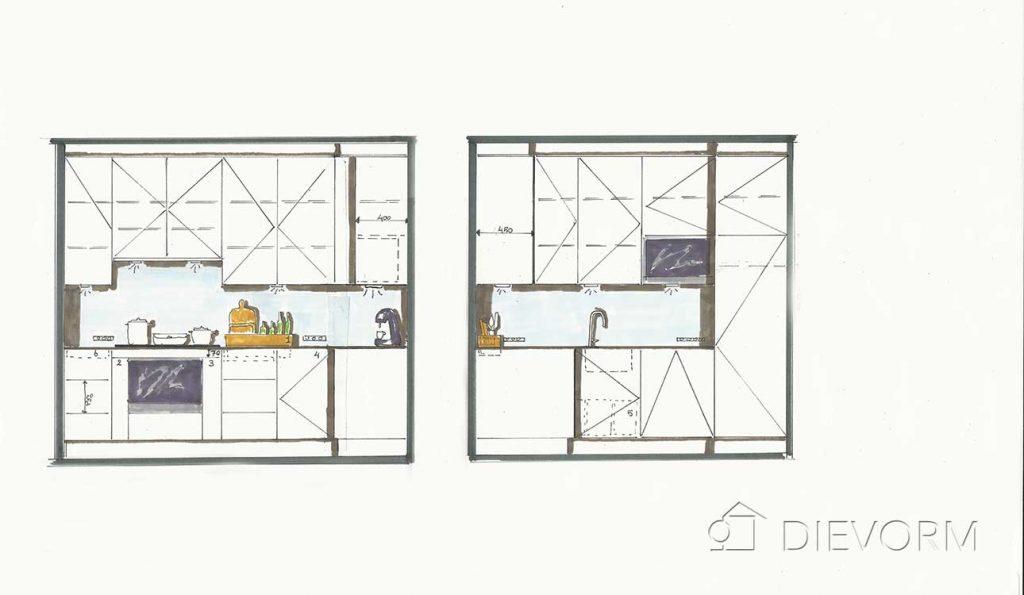 design hoekkeuken