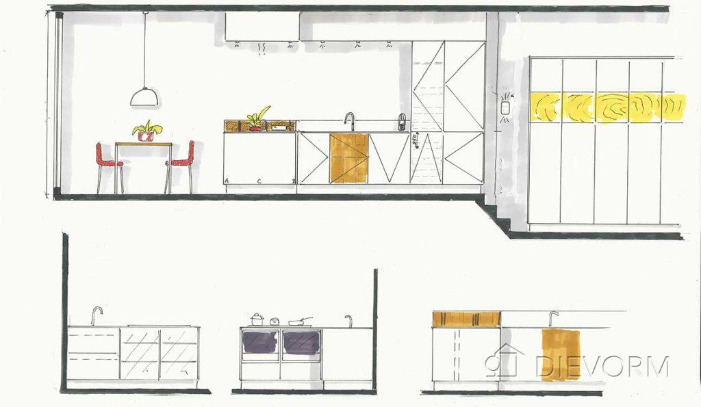 keuken ontwerp_moderne keuken met kookeiland_design_keuken op maat