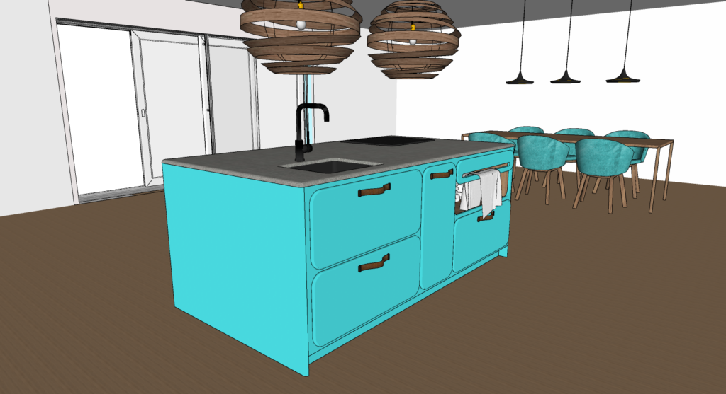 retro keuken in een nieuw jasje 1