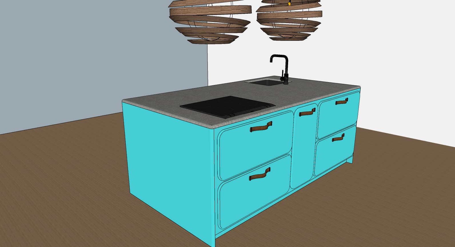retro keuken in een nieuw jasje 2