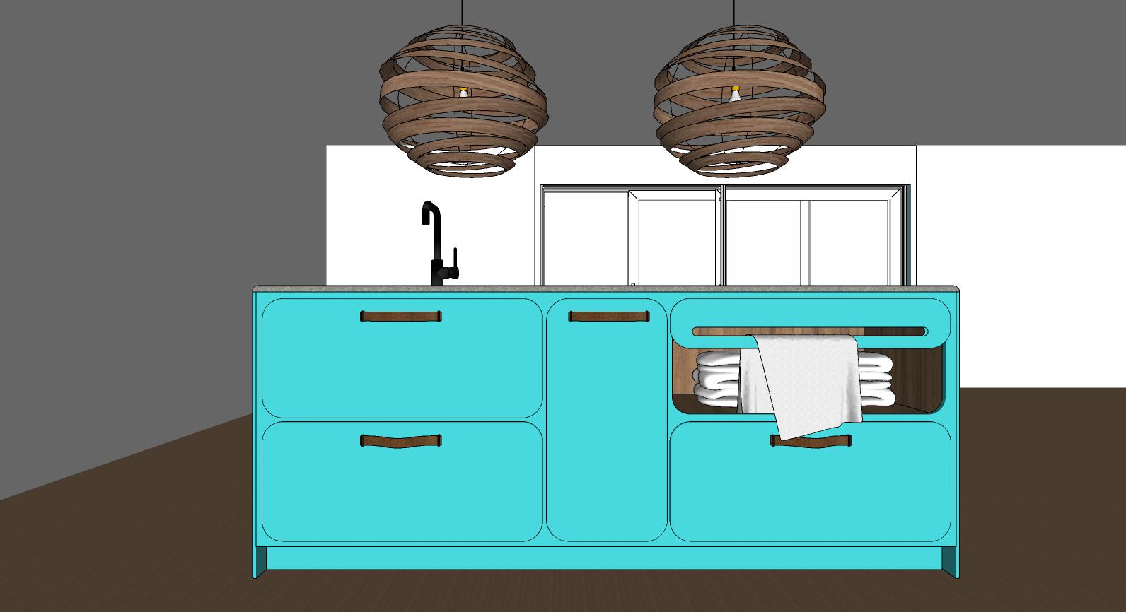 retro keuken in nieuw jasje voorkant