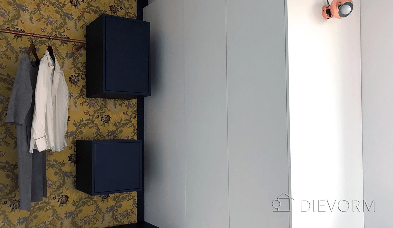inloopkast_Rubelli behang_design_modern_garderobekast_Arnhem_Nijmegen_DIEVORM